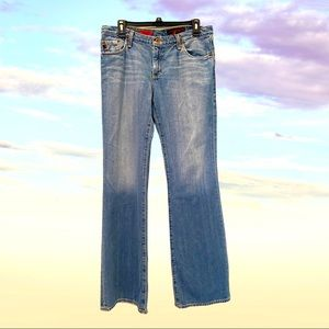 AG ADRIANO GOLDSCHMIED JEANS 30R The Angel